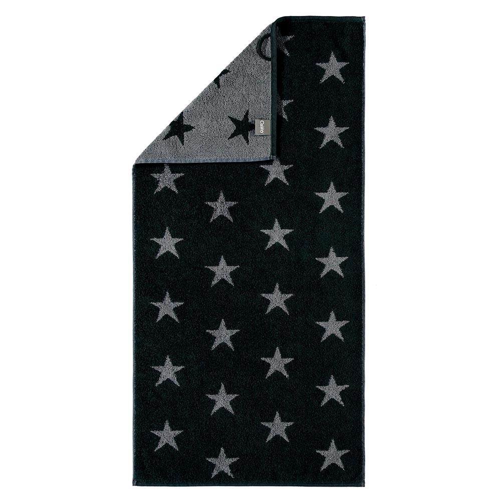 handtuch mit kleinen sternen grau div gr ssen. Black Bedroom Furniture Sets. Home Design Ideas