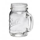 Ball Mason Jar mit Henkel, 4er Set