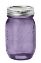 Ball Mason Jar, violett
