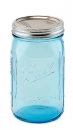 Ball Mason Jar blau, gross