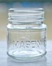 Mason Glas, klein