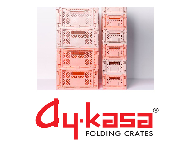 Ay-Kasa Folding Crates