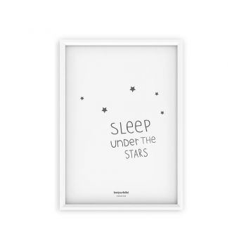 Poster Sleep under the stars A3