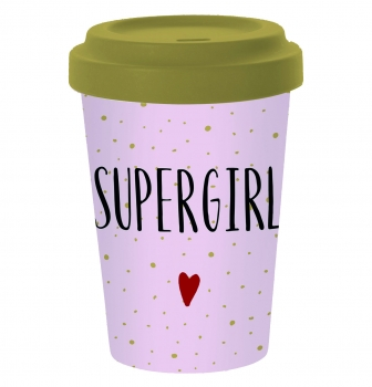 Coffee to Go Becher SUPERGIRL