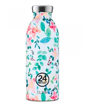 24Bottles Thermosflasche m. Blumen 500 ml