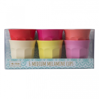 Rice Becher 6er Set Sommerfarben