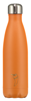 Chilly's Flasche matt orange 500 ml