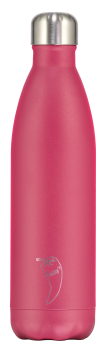 Chilly's Flasche matt pink 750 ml