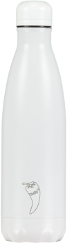 Chilly's Flasche all white 500 ml