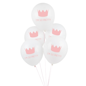Luftballons Princess 5er Set