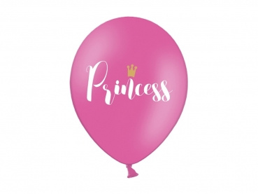 Luftballons Princess 5er Set pink