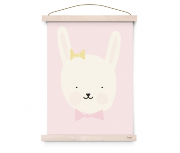 Poster Miss Bunny A3