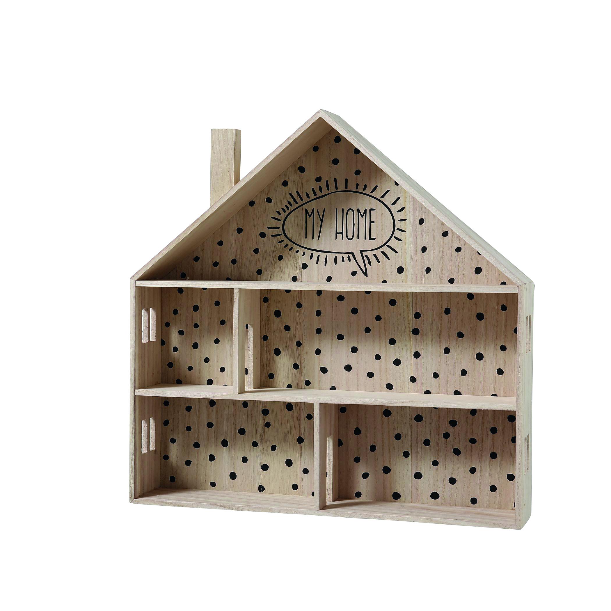 Wandregal Haus Aus Holz Honeyhome Ch