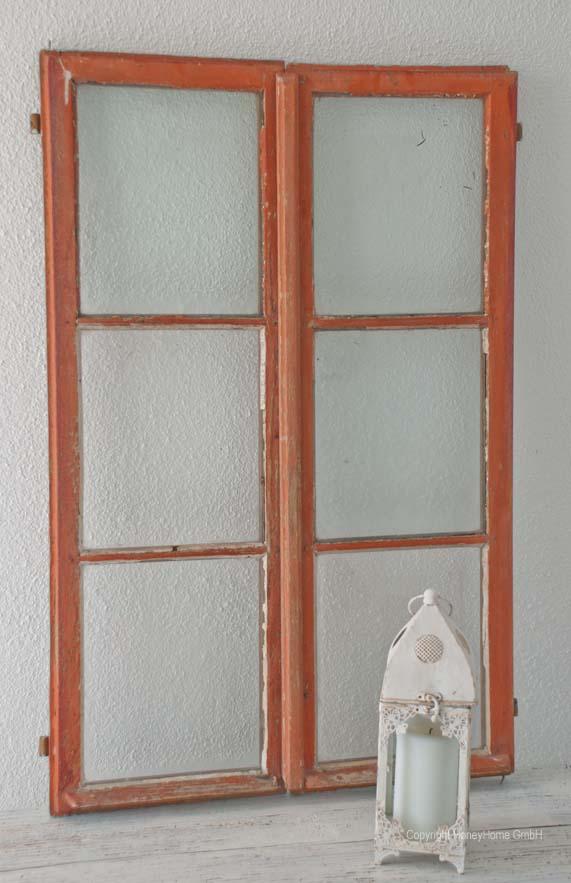 Wundersch nes altes fenster im shabby chic look oder for Fenster schnelle lieferung