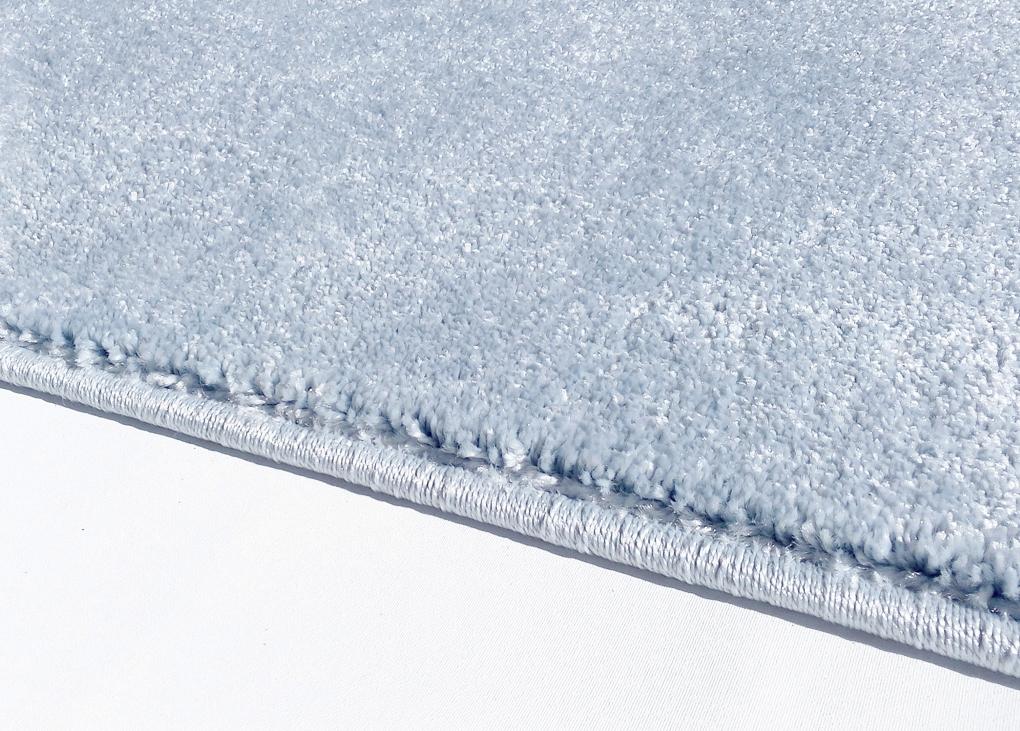 teppich mit stern hellblau grau. Black Bedroom Furniture Sets. Home Design Ideas