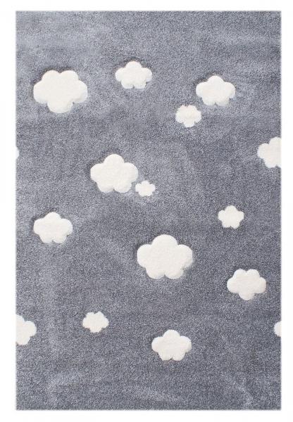 teppich mit wolken grau. Black Bedroom Furniture Sets. Home Design Ideas