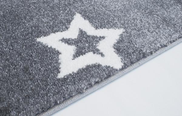 teppich mit sternen grau weiss. Black Bedroom Furniture Sets. Home Design Ideas